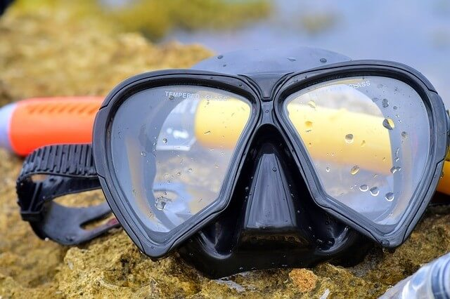 defogging snorkel mask